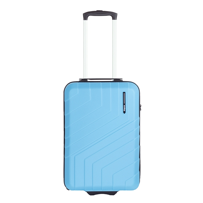 Travelbags Barcelona Handbagage koffer - 55 cm - 2 wielen - sky blue - 1