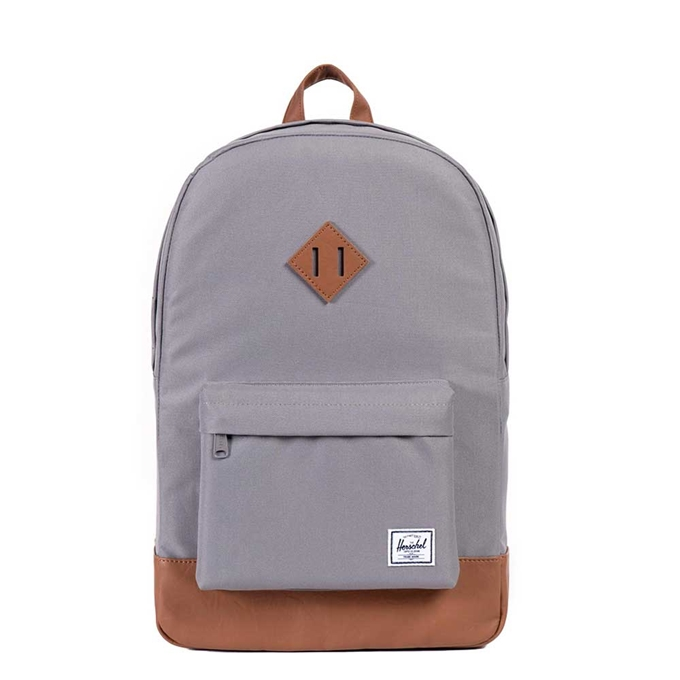 Herschel Supply Co. Heritage Rugzak grey/tan synthetic leather - 1