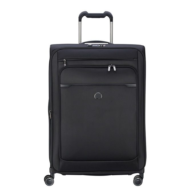 Delsey Pilot WW 4 Wheel Trolley 75 Expandable black - 1