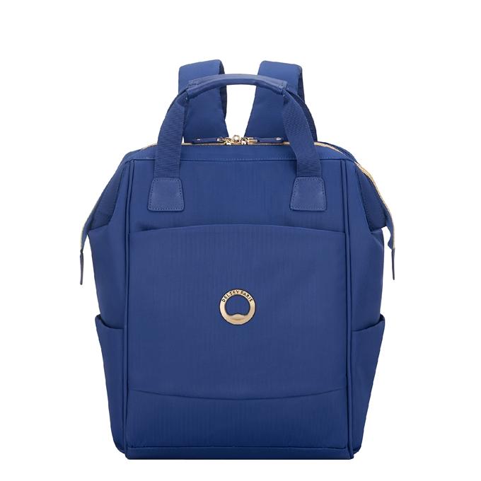 Delsey Montrouge Backpack M blue - 1