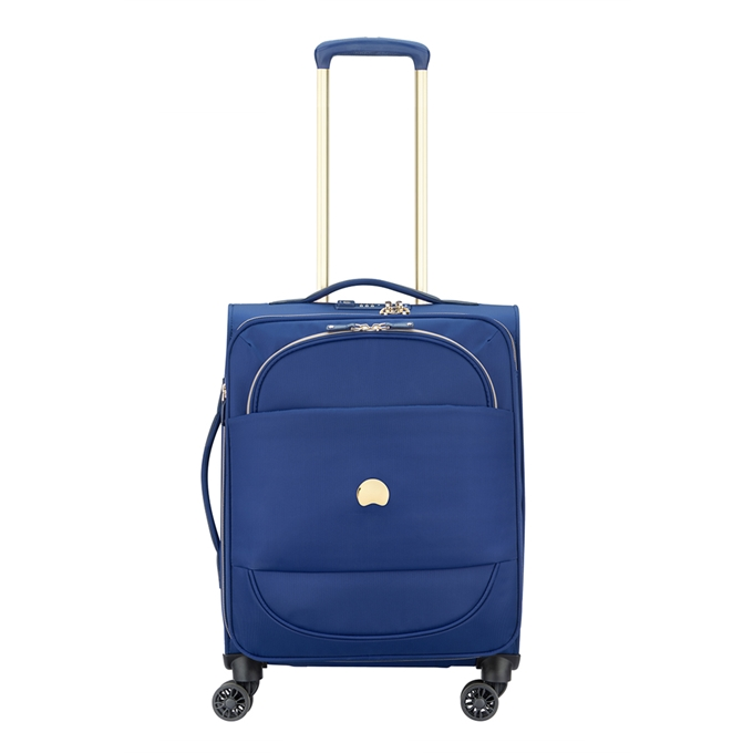 Delsey Montrouge 4 Wheel Slim Trolley 55 blue - 1