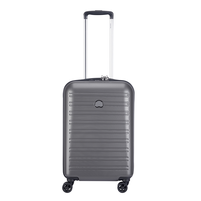 Delsey Segur 2.0 4 Wheels Cabin Trolley 55 grey - 1