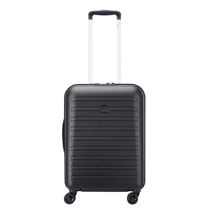 Delsey Segur 2.0 Slim 4 Wheels Trolley 55 black - 1
