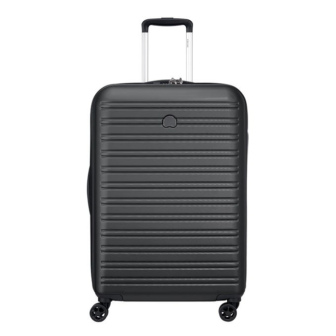 Delsey Segur 2.0 4 Wheel Trolley 70 black - 1