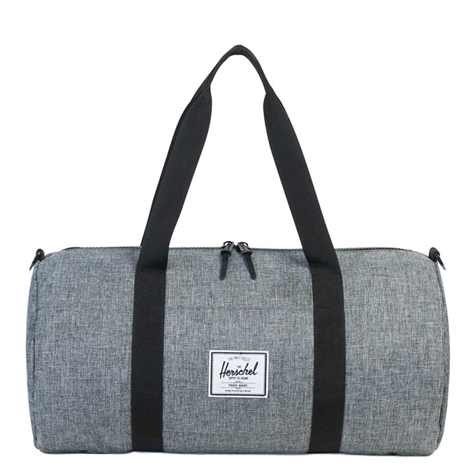 Herschel Supply Co. Sutton Mid-Volume Duffle raven crosshatch/black - 1