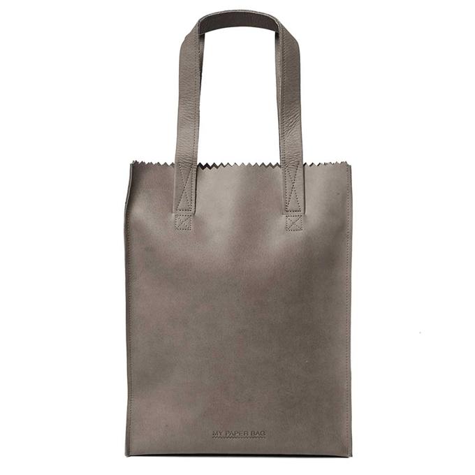 Myomy Paper Bag Shopper taupe
