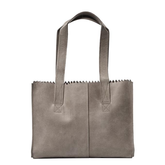 MYoMY Paper Bag Handbag hunter taupe