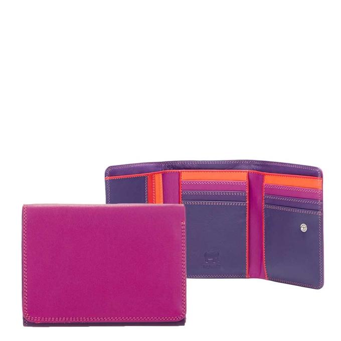 Mywalit Unisex Medium Tri-fold Wallet sangria multi - 1