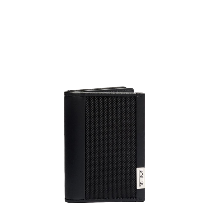 Tumi Alpha SLG Gusseted Card Case black chrome - 1