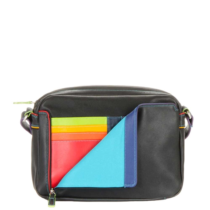 Mywalit Office Collection Small Organiser Cross Body Bag black/pace - 1