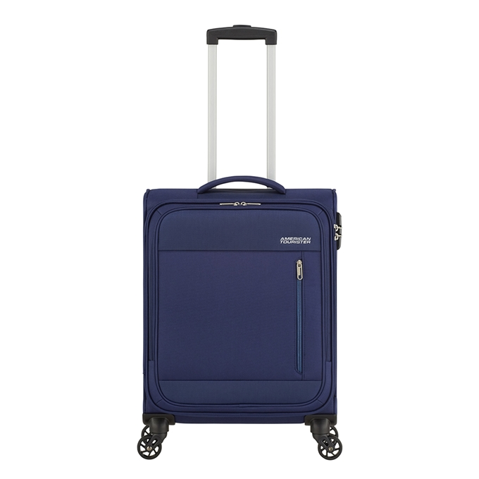American Tourister Heat Wave Spinner 55 combat navy - 1