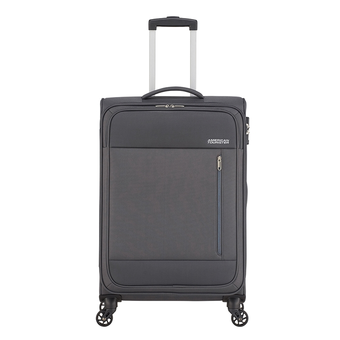 American Tourister Heat Wave Spinner 68 charcoal grey