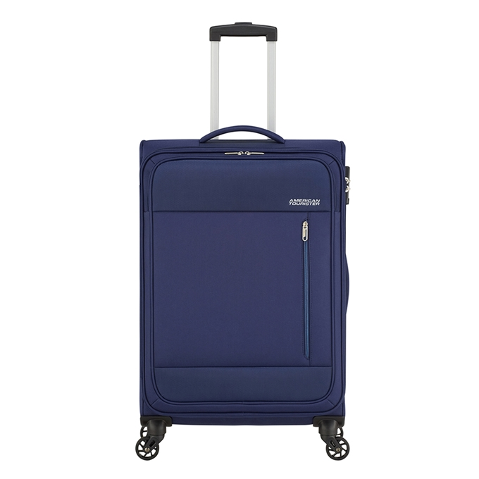 American Tourister Heat Wave Spinner 68 combat navy - 1