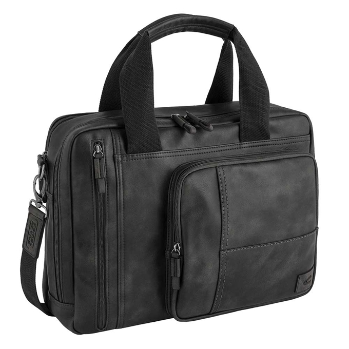 "Camel Active Laos Business Bag 15"" black - 1"