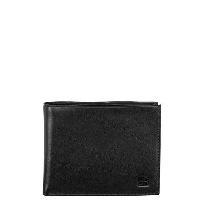 dR Amsterdam Canyon Billfold 10cc black - 1