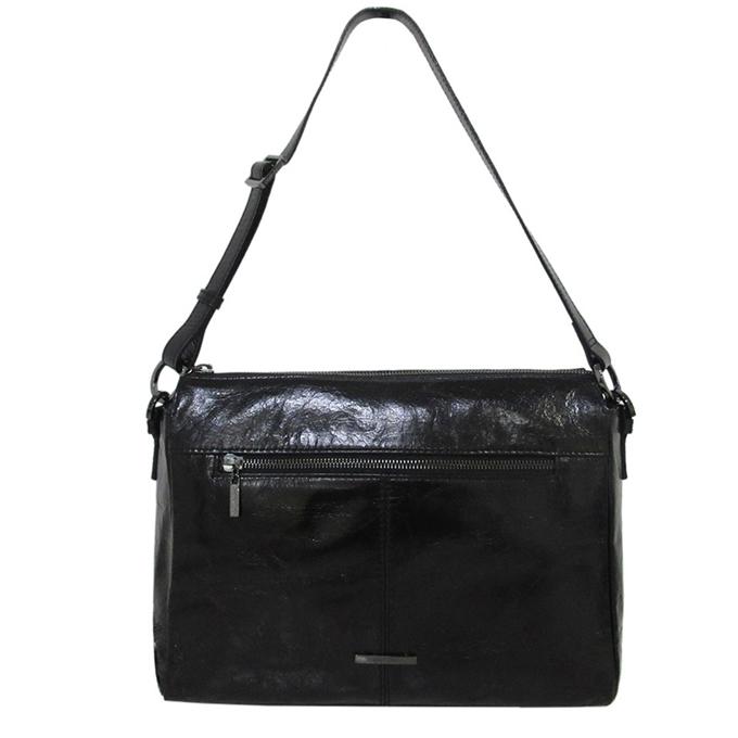 Claudio Ferrici Pelle Vecchia Shoulder Bag black4 - 1