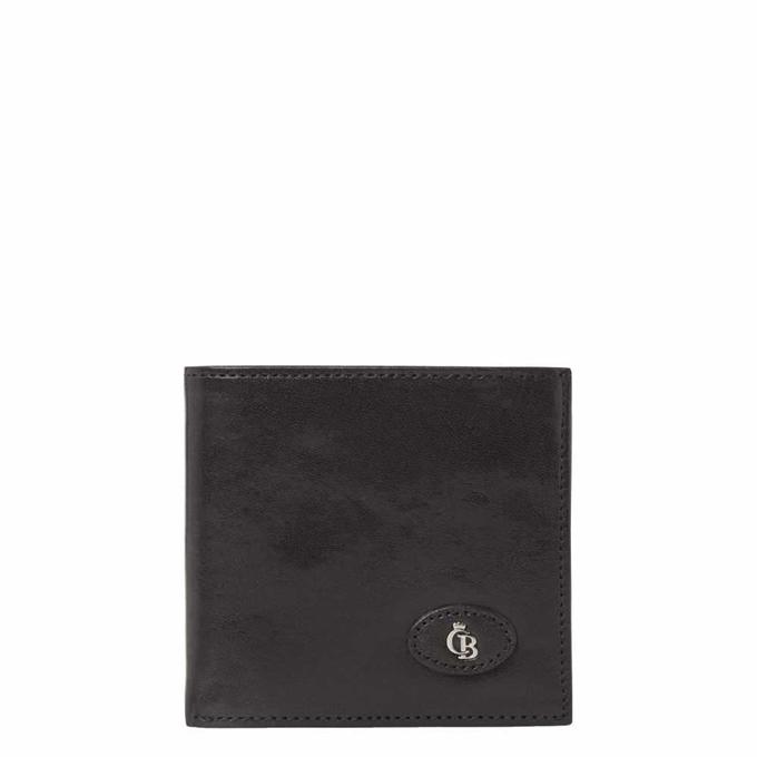 Castelijn & Beerens Gaucho Billfold met Clic-Clac zwart - 1