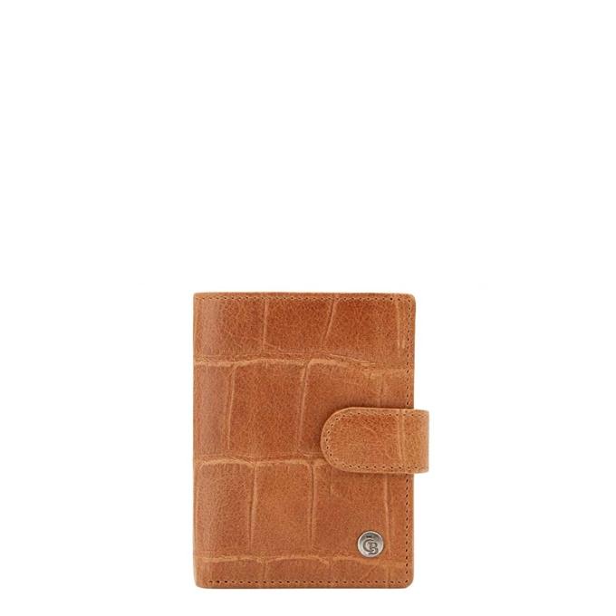 Castelijn & Beerens Cocco RFID Creditcard Etui Geldvak lichtbruin