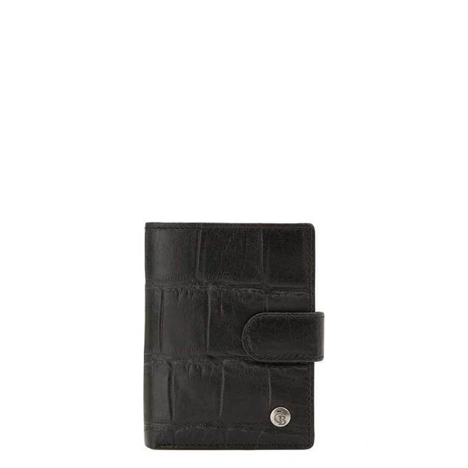 Castelijn & Beerens Cocco RFID Creditcard Etui Geldvak zwart - 1