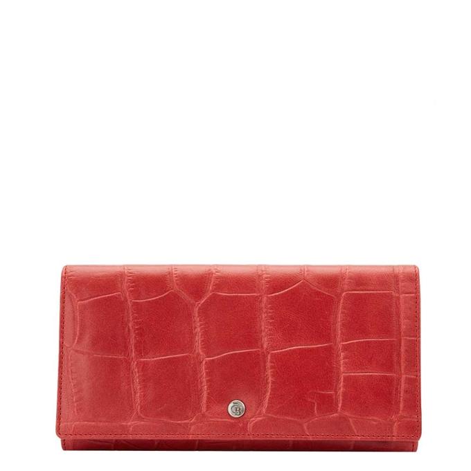 Castelijn & Beerens Cocco RFID Dames Portemonnee rood - 1