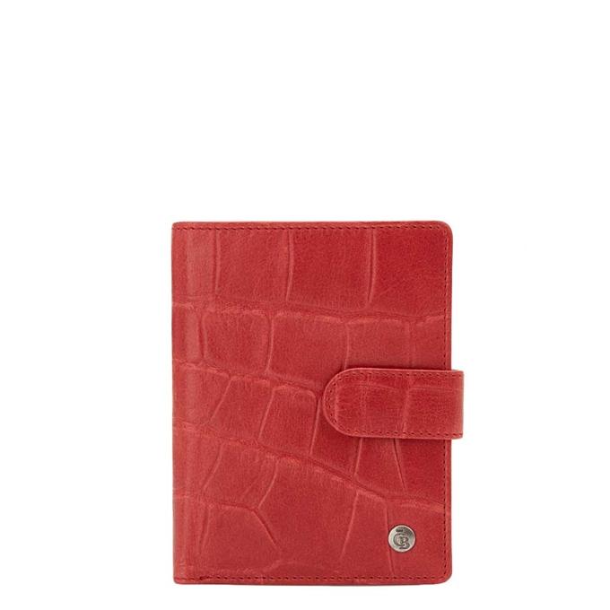 Castelijn & Beerens Cocco RFID Dames Portemonnee Rits rood - 1