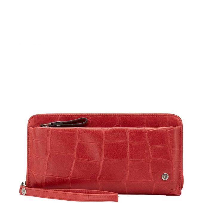 Castelijn & Beerens Cocco RFID Ritsportemonnee rood - 1