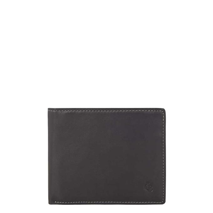 Castelijn & Beerens Canyon Billfold heren portemonnee zwart - 1