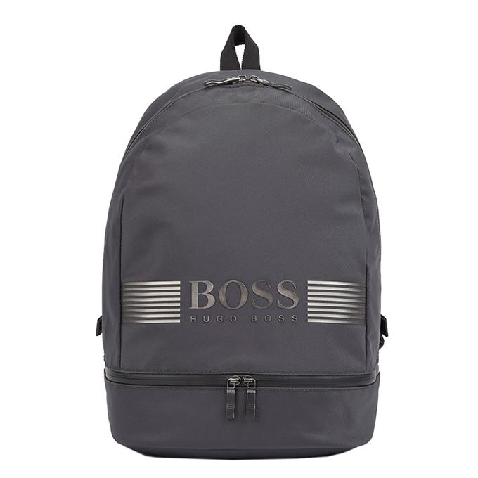 Hugo Boss Pixel Backpack dark grey