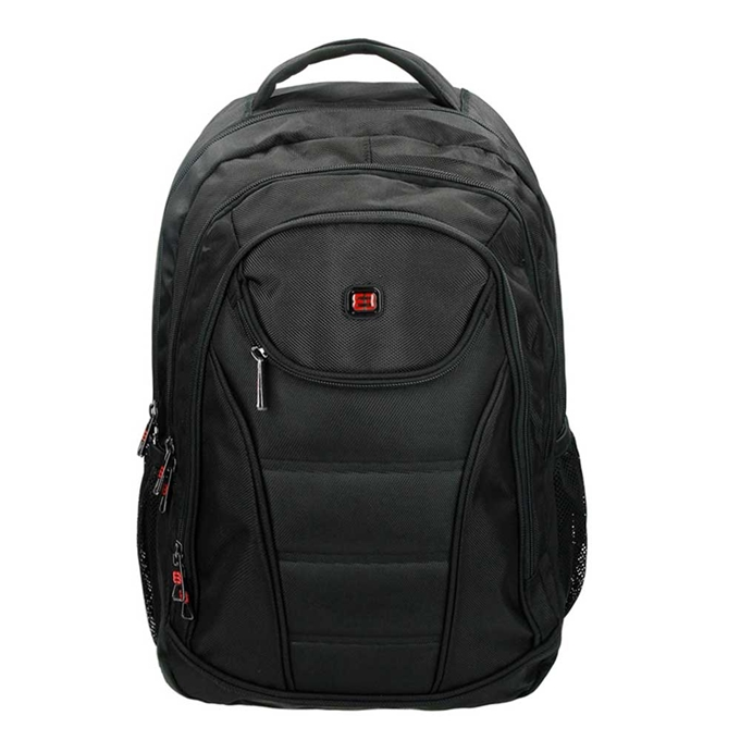 "Enrico Benetti Cornell Laptop Rugzak 17"" black - 1"