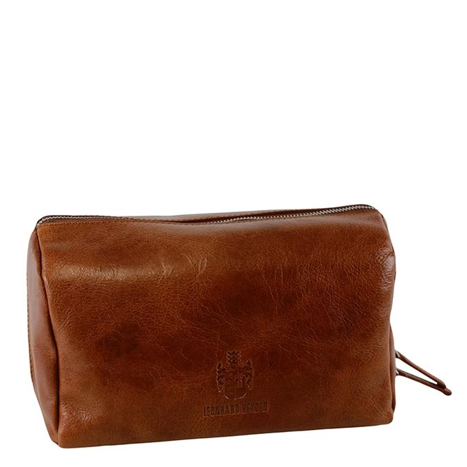 Leonhard Heyden Cambridge Toilet Bag cognac - 1