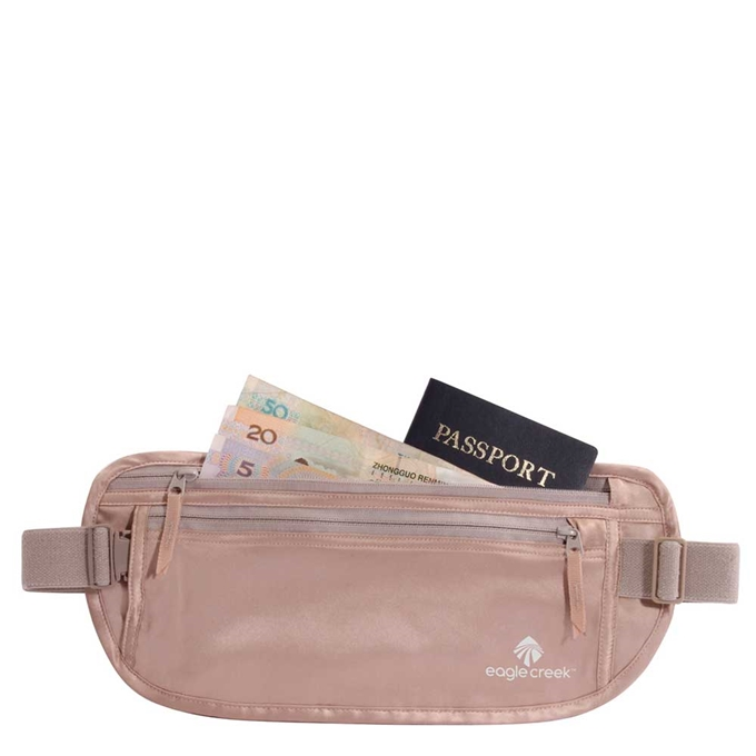 Eagle Creek Necessities Silk Undercover Money Belt rose - 1