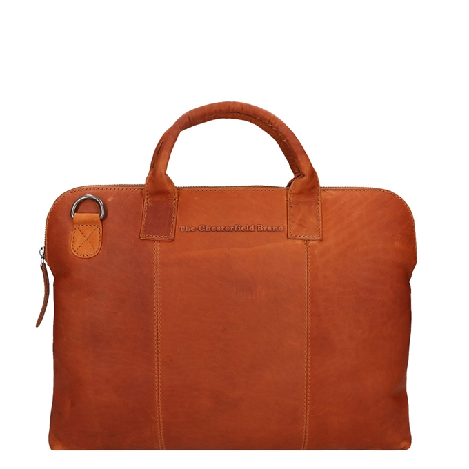 The Chesterfield Brand Cardiff Laptopbag cognac - 1