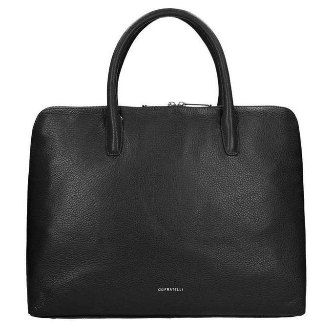 "Gigi Fratelli Romance A4 Laptop Bag 15"" black - 1"