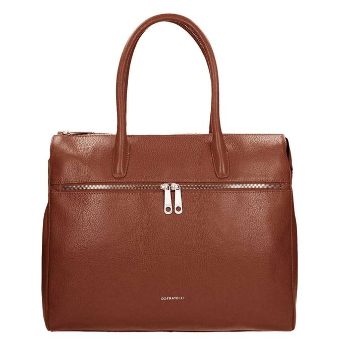 "Gigi Fratelli Romance Lady Businessbag 15"" brandy - 1"