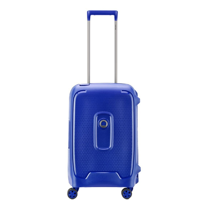 Delsey Moncey 4 Wheel Cabin Trolley 55 blue