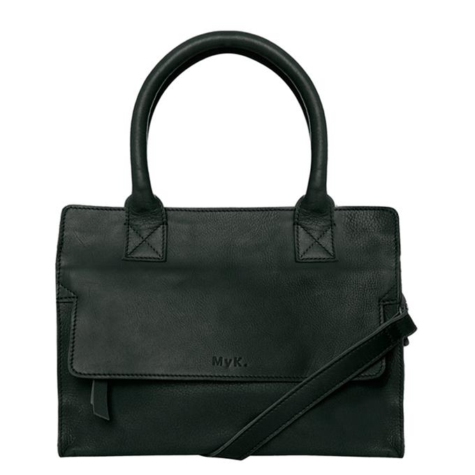 MyK. Cityhopper Bag emerald green