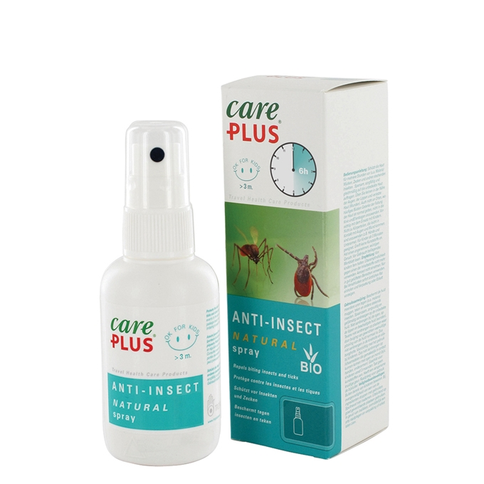 Care Plus Anti-Insect Natural Spray, 60 ml transparant - 1