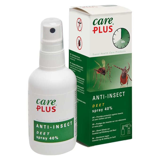 Care Plus Anti-Insect Deet 40% spray, 100ml transparant - 1
