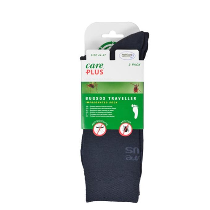 Care Plus Bugsox Traveller Geimpregneerde Sokken Maat 38-40 2-pack navy - 1