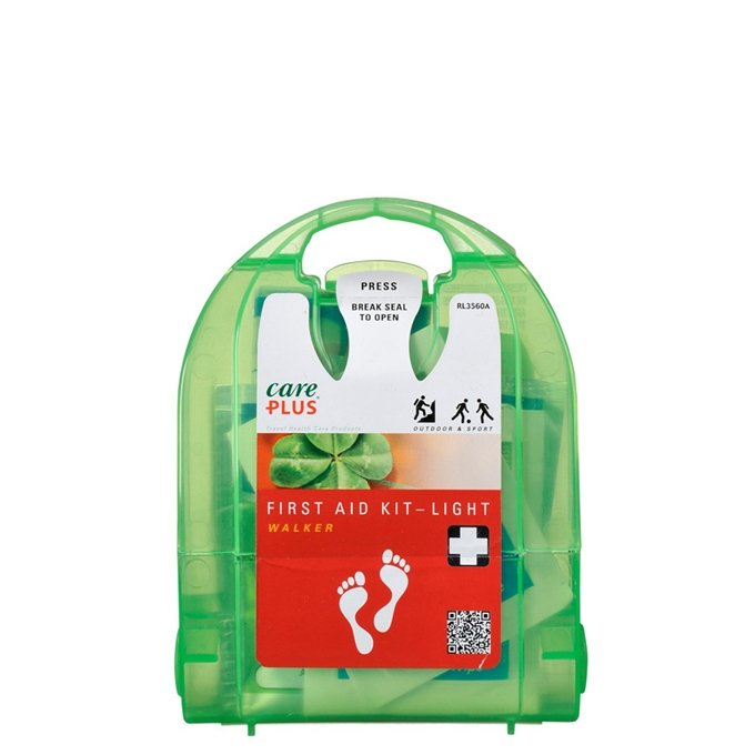 Care Plus First Aid Kit Light Walker green