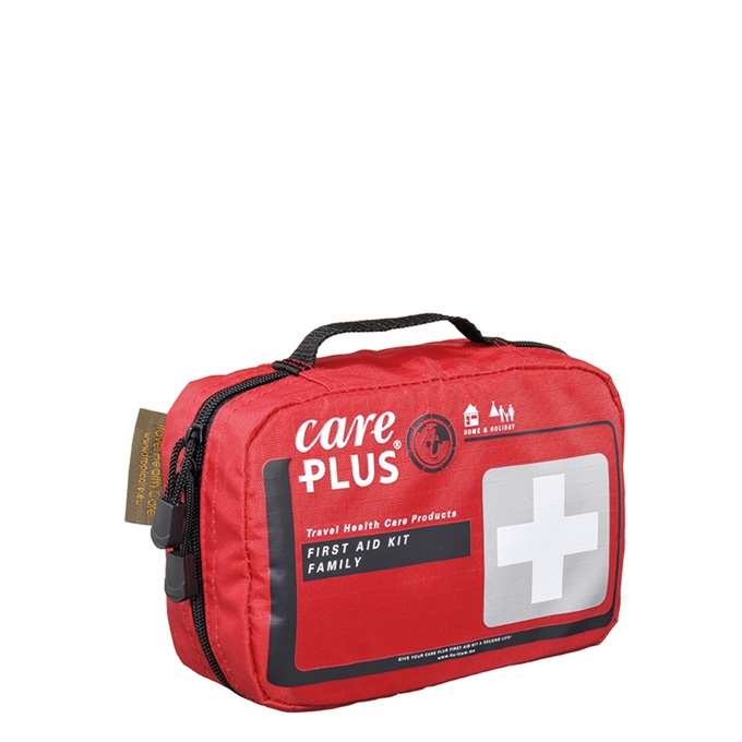 Care Plus First Aid Kit - Family red - 1