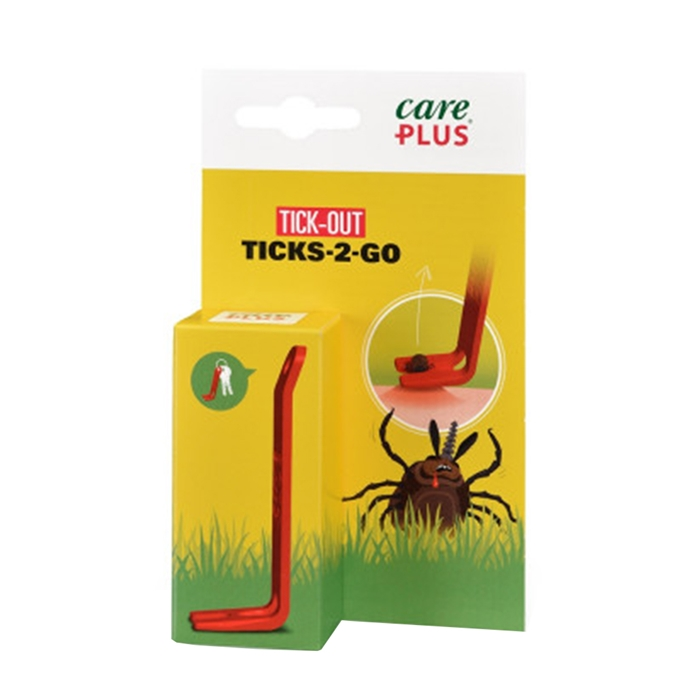 Care Plus First Aid Tick's-2-go transparant - 1