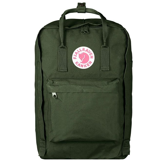 "Fjallraven Kanken Laptop 17"" Rugzak forest green - 1"