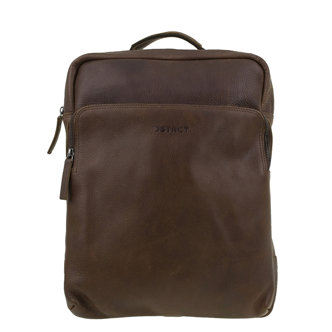 "DSTRCT Raider Road Montana Laptop Backpack 15.6"" cognac"