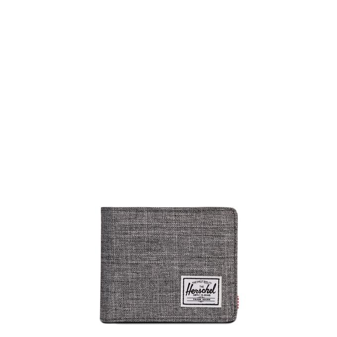 Herschel Supply Co. Hank Pashouder RFID raven crosshatch/black - 1