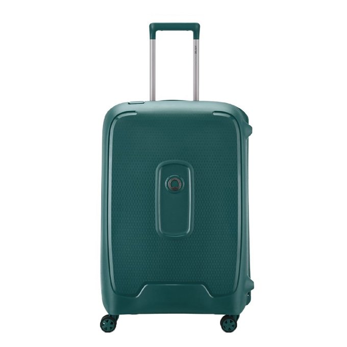 Delsey Moncey 4 Wheel Trolley 70 green