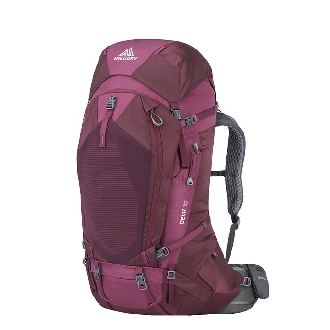 Gregory Deva 70L Backpack M plum red