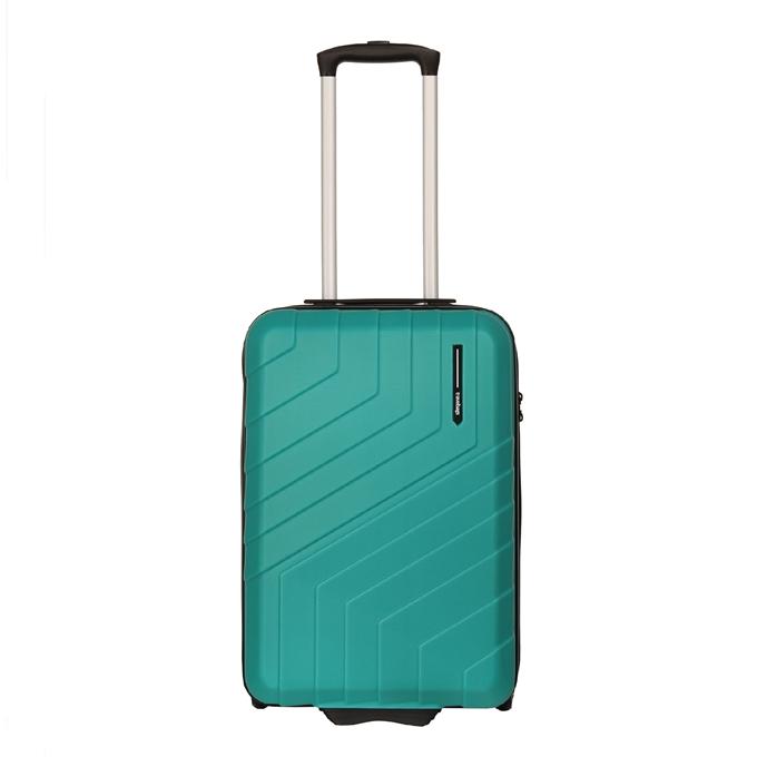 Travelbags Barcelona Handbagage koffer - 55 cm - 2 wielen jade - 1