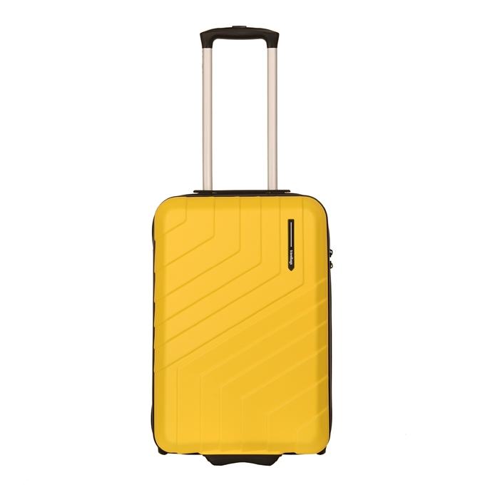 Travelbags Barcelona Handbagage koffer - 55 cm - 2 wielen yellow - 1