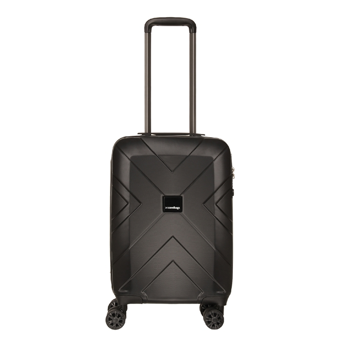 Travelbags Londen 4 Wheel Trolley 55 black